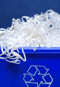 picture of shredded paper